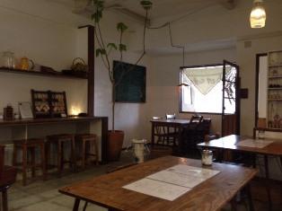バナナカフェ店内