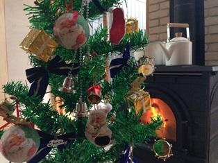 40年物クリスマスツリー