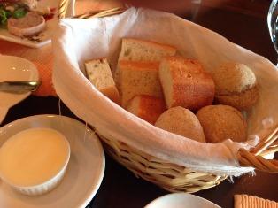 欧風料理 パン