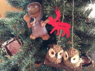 クリスマスツリーin E.T