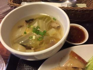スコンターランチスープ