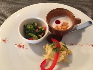 トレフルブラン 前菜